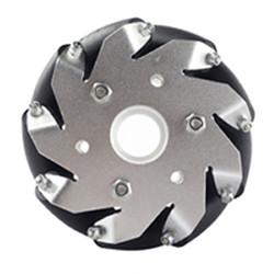8 Inch Industrial Wheel Mecanum Wheel With 12 Pu Roller 50kg Load
