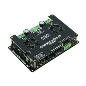 SmartDriveDuo-60 supports dual channels, 60A continuous current for each channel
