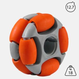 Rotacaster 48mm Double (65A) medium polyurethane roller with 12.7mm Keyed Bore