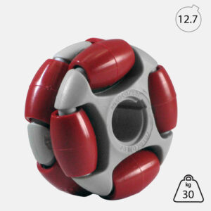 Rotacaster 48mm Double (90A) firm polyurethane roller with 12.7mm Keyed Bore